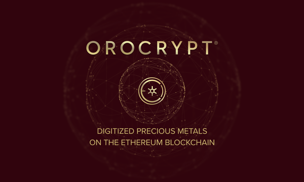 Orocrypt Offers Digitized Precious Metals on Ethereum Blockchain