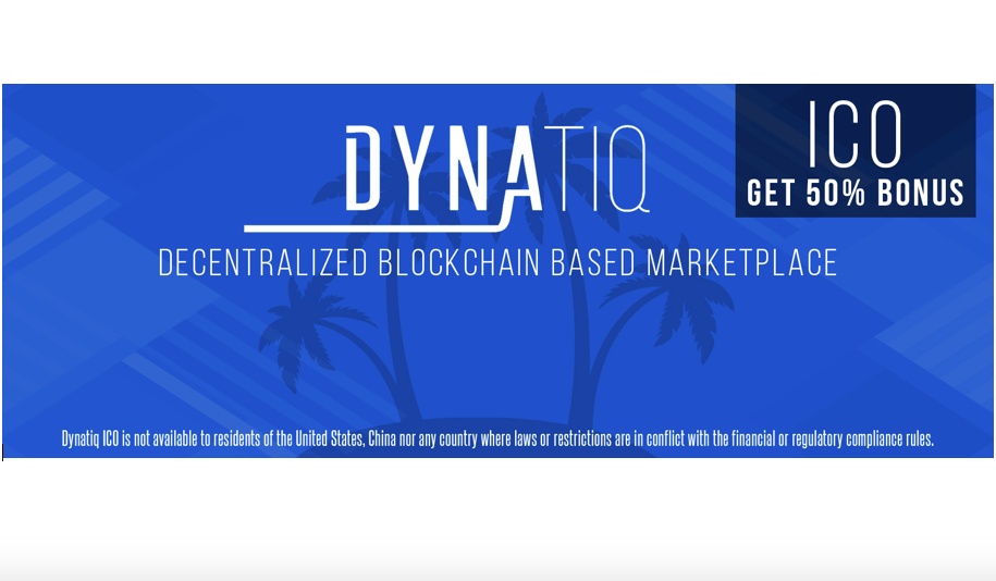 Dynatiq – Decentralized Blockchain Based Domains & Website Marketplace Announces Token Event