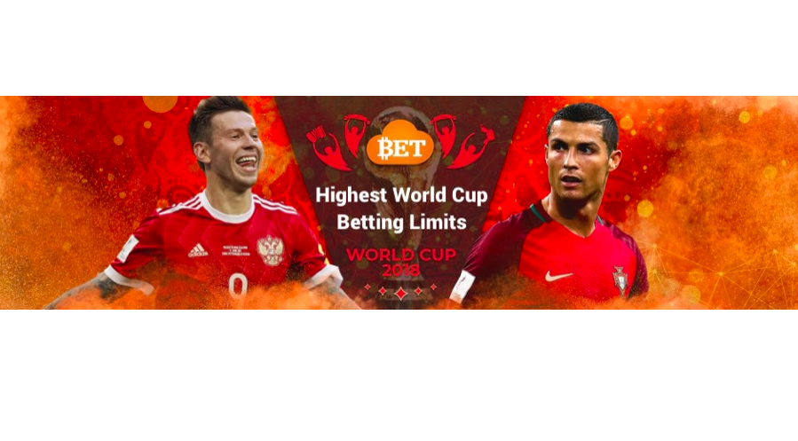 Bitcoin Betting Juggernaut Cloudbet is Offering the Highest 2018 World Cup betting limits For Any Site
