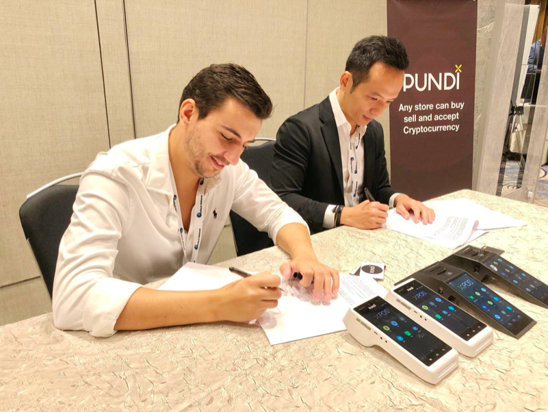 World's Leading Cryptocurrency Payment Platform UTRUST Join Forces With Pundi X in Singapore