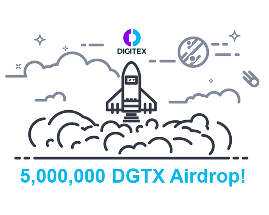 Digitex Releasing Exchange to the Top 5000 on Waitlist with 5M DGTX Airdrop!