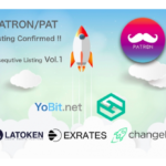 PATRON, Announces New Exchange Listings, a Buyback Program, and Coin Burn