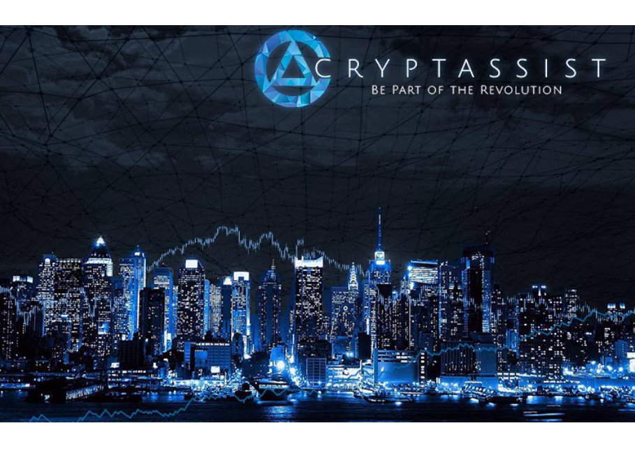 Cryptassist Announce Extension of their $37,000,000 Token Sale to 1st November, 2018