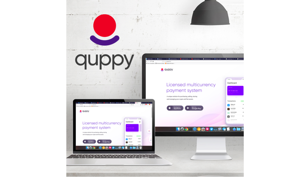Multi-Currency Wallet App Quppy Announces Launch of White Label Wallet Payments