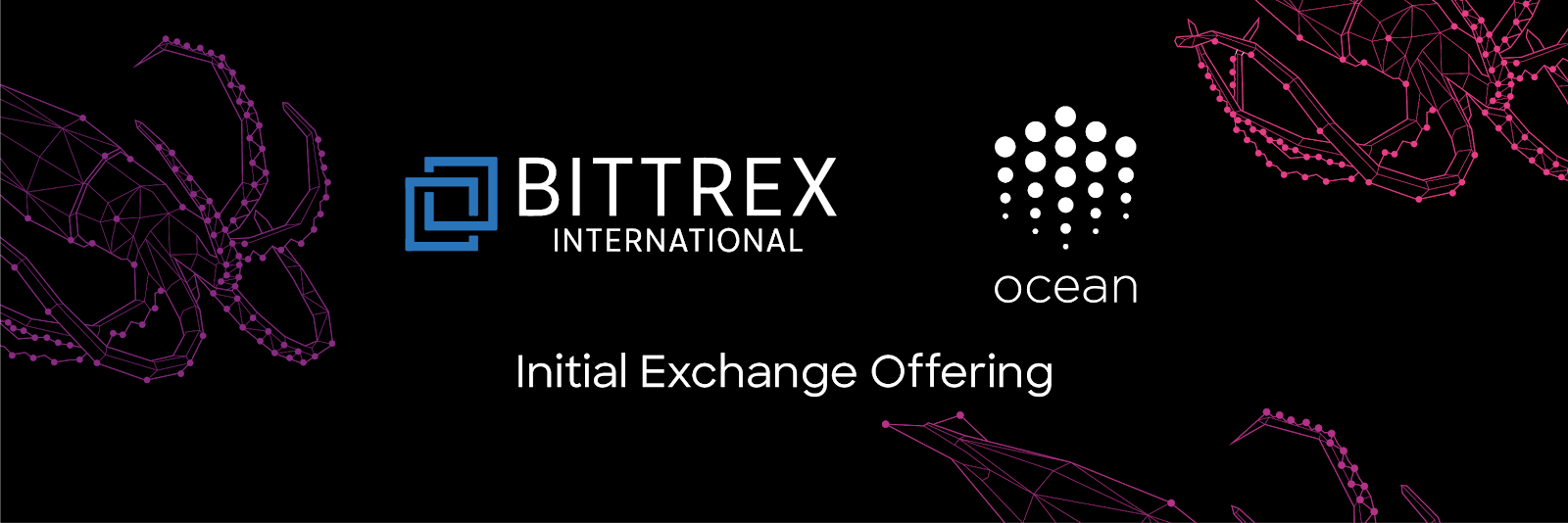 Future-Facing Borderless Data Sharing Platform Ocean Protocol's IEO on Bittrex Begins April 30th, 2019