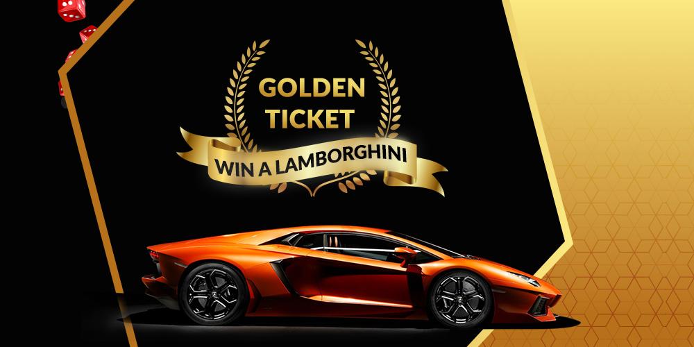 Leading Bitcoin Faucet FreeBitco.in Offers Lamborghini Prize in Golden Ticket Contest