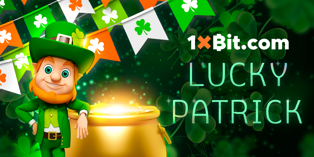 Get Lucky with the St Patrick's Day Tournament at 1xBit Casino